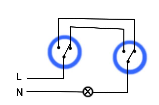 Zapojení schodišťového vypínače pro laiky
