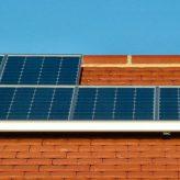 Solární panely na výrobu elektřiny